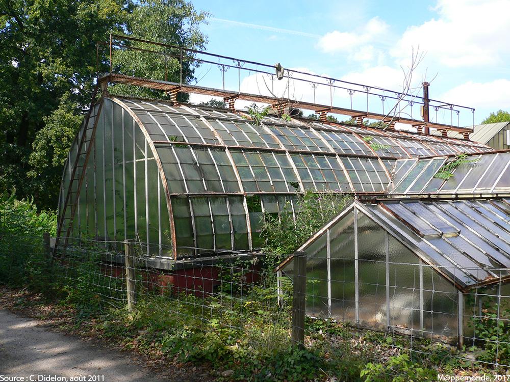 Le jardin tropical de paris m ppemonde - Acheter une serre de jardin en belgique ...