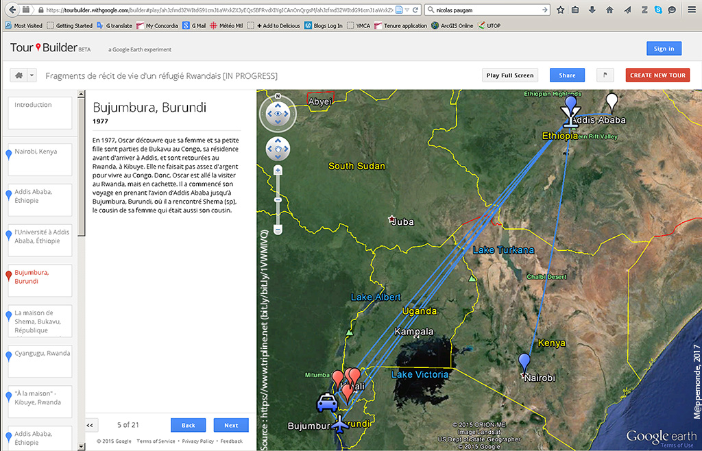 Screenshot Of OGs Story Map With Google Tour Builder Accessible Online