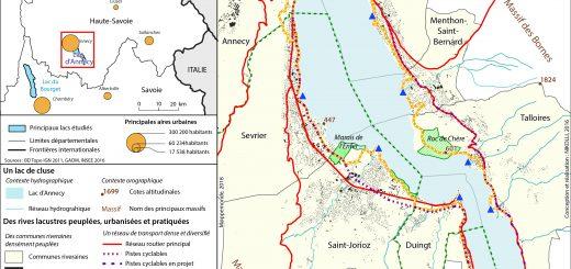 Figure 1. Localisation et présentation du terrain d'étude.