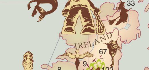 Figure 2. Détail sur l'Irlande (capture d'écran). G. Beconyté et al.